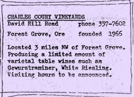 Charles Coury Vineyards