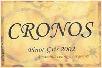 Cronos Pinot Gris 2002