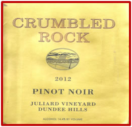 Saucy Vineyards was sold and when bought was renamed Crumbled Rock Wines