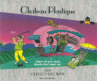 Chateau Plastique, Oregon Red Wine