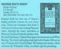 Knudsen Erath Winery