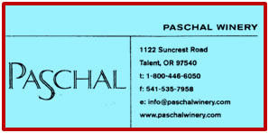 Paschal Winery