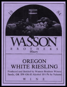 Wasson Brothers Winery